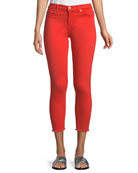 7 for all mankind Ankle Skinny Jeans w/