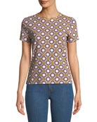 Louis Octagonal-Print T-Shirt