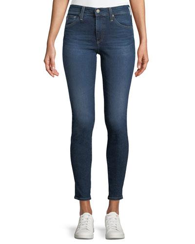 Farrah High-Rise Skinny-Leg Ankle Jeans