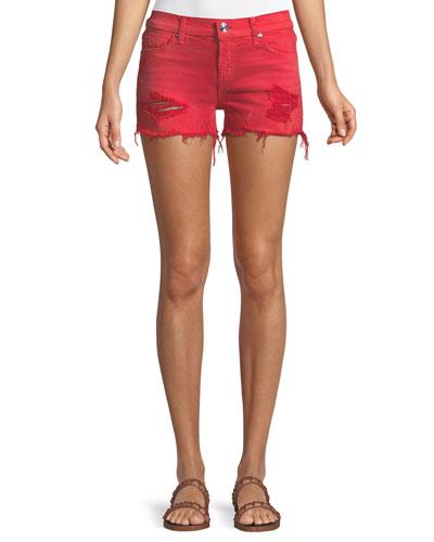 Kenzie Cutoff Jean Shorts