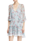 The Knowing Georgette Mini Dress