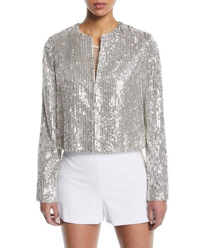 Kidman Sequin Embellished Jacket