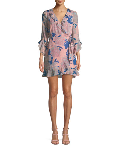 Tessa Floral-Print Wrap Dress