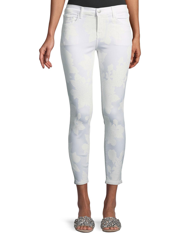 835 Mid-Rise Capri Glowing Jeans