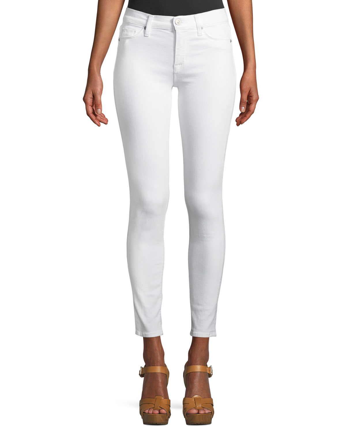 Nico Mid-Rise Skinny Ankle Jeans
