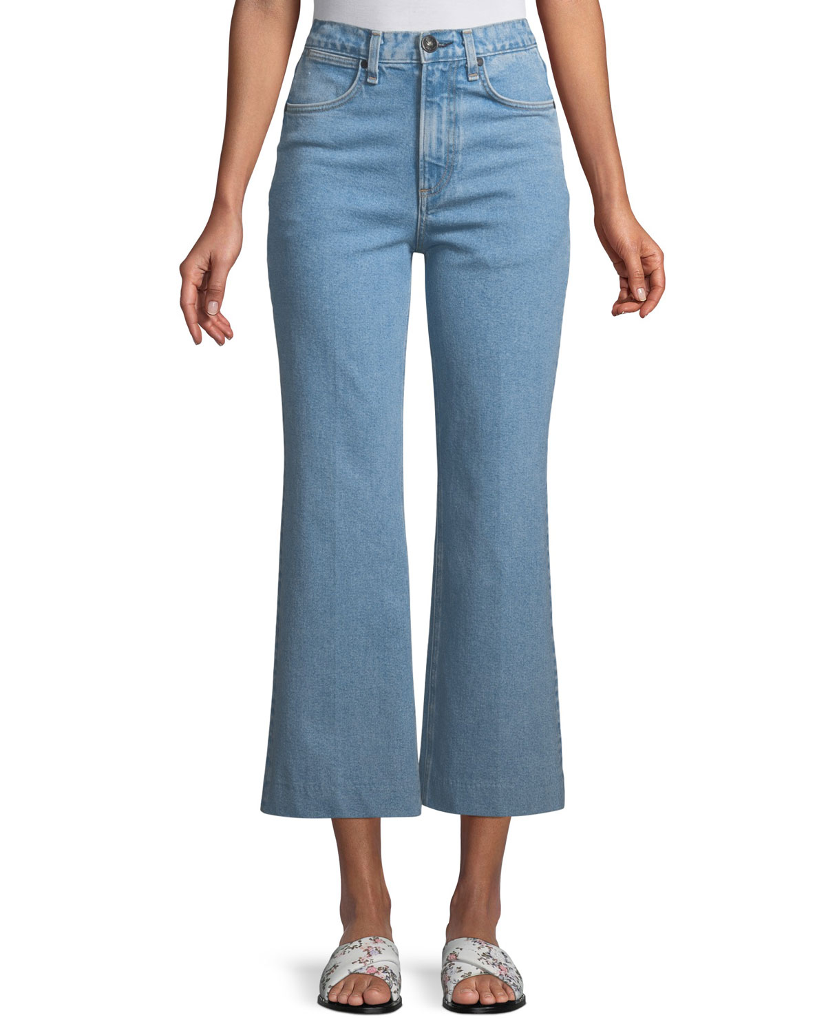 Justine Flared Ankle Jeans