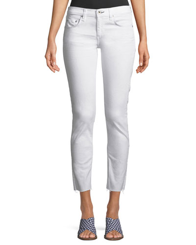 b5e841ba925 Quick Look. Rag   Bone · Dre Mid-Rise Cropped Skinny Stretch-Twill Jeans