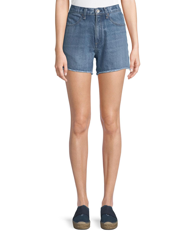 Torti High-Rise Denim Shorts