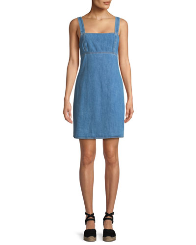 Paula Denim Tank Dress
