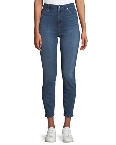 Aubrey High-Waist Skinny-Leg Ankle Jeans
