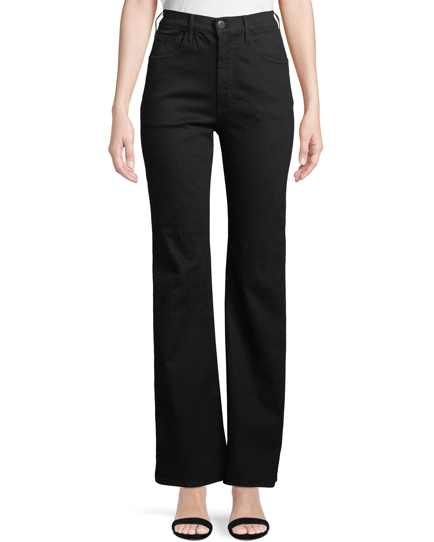W4 Adeline High-Rise Split Flare Jeans