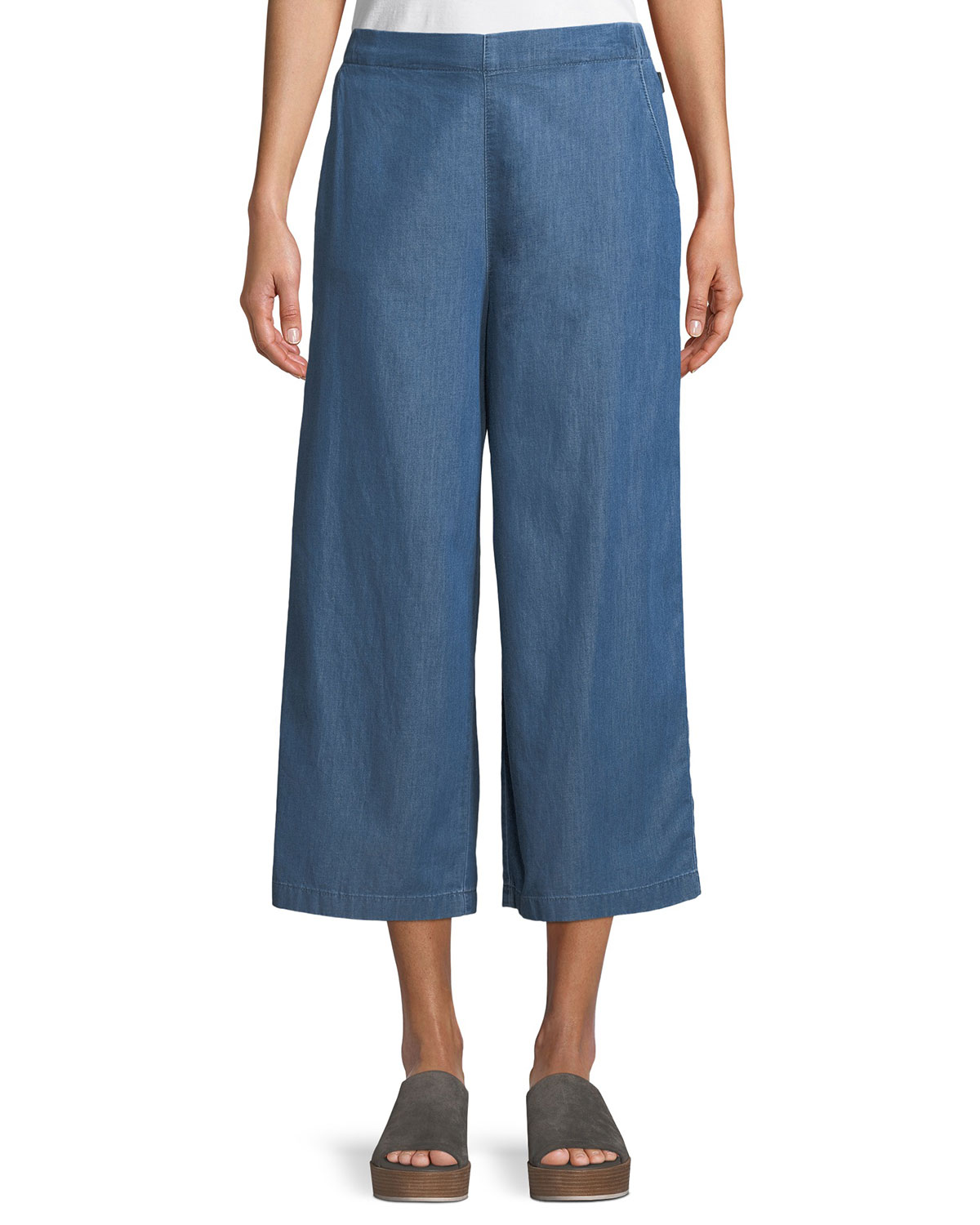 Peggie Cropped Denim Trousers
