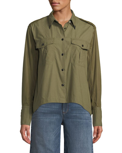 Pearson Button-Down Cotton Shirt