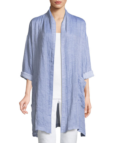 1452f010 Eileen Fisher Coat | Neiman Marcus