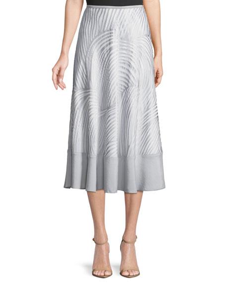 NIC+ZOE Petite Bohemian Groves A-line Skirt