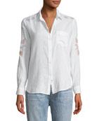 Charli Embroidered Long-Sleeve Shirt