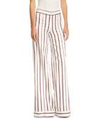 Niel Striped Wide-Leg Pants