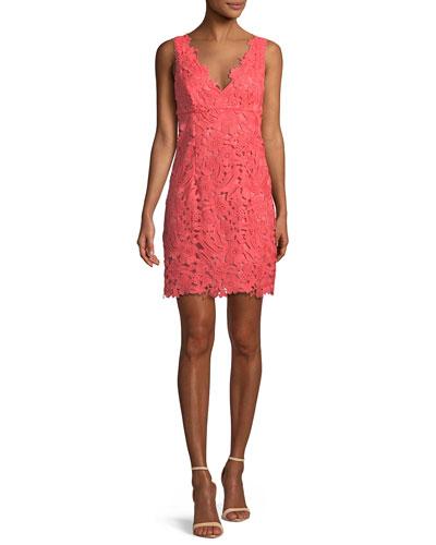 Clover Donna Bella La Lace Mini Dress
