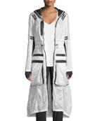 Parachute Hooded Anorak Jacket