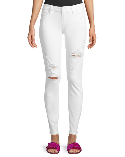 Skyline Mid-Rise Skinny-Leg Jeans