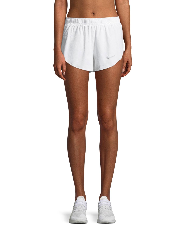 High-Cut Athletic Shorts