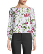Valterra Floral-Print Long-Sleeve Top