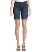 Jax Knee-Length Denim Shorts