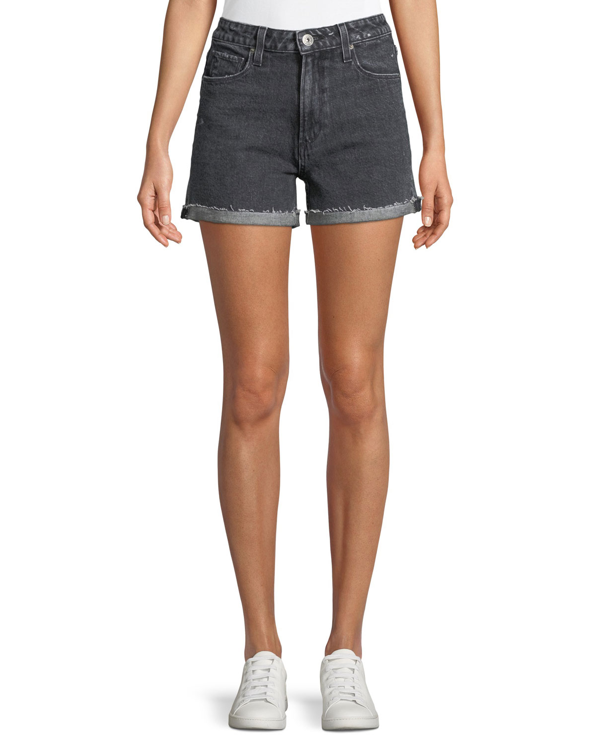 Sarah High-Rise Denim Shorts