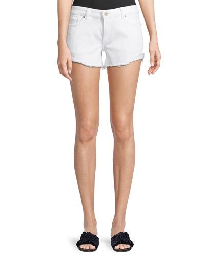 Karlie Low-Rise Boyfriend Shorts