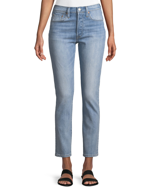 501 Heartbreak High Skinny-Leg Jeans