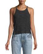 Carlin Lace-Up Tank Top