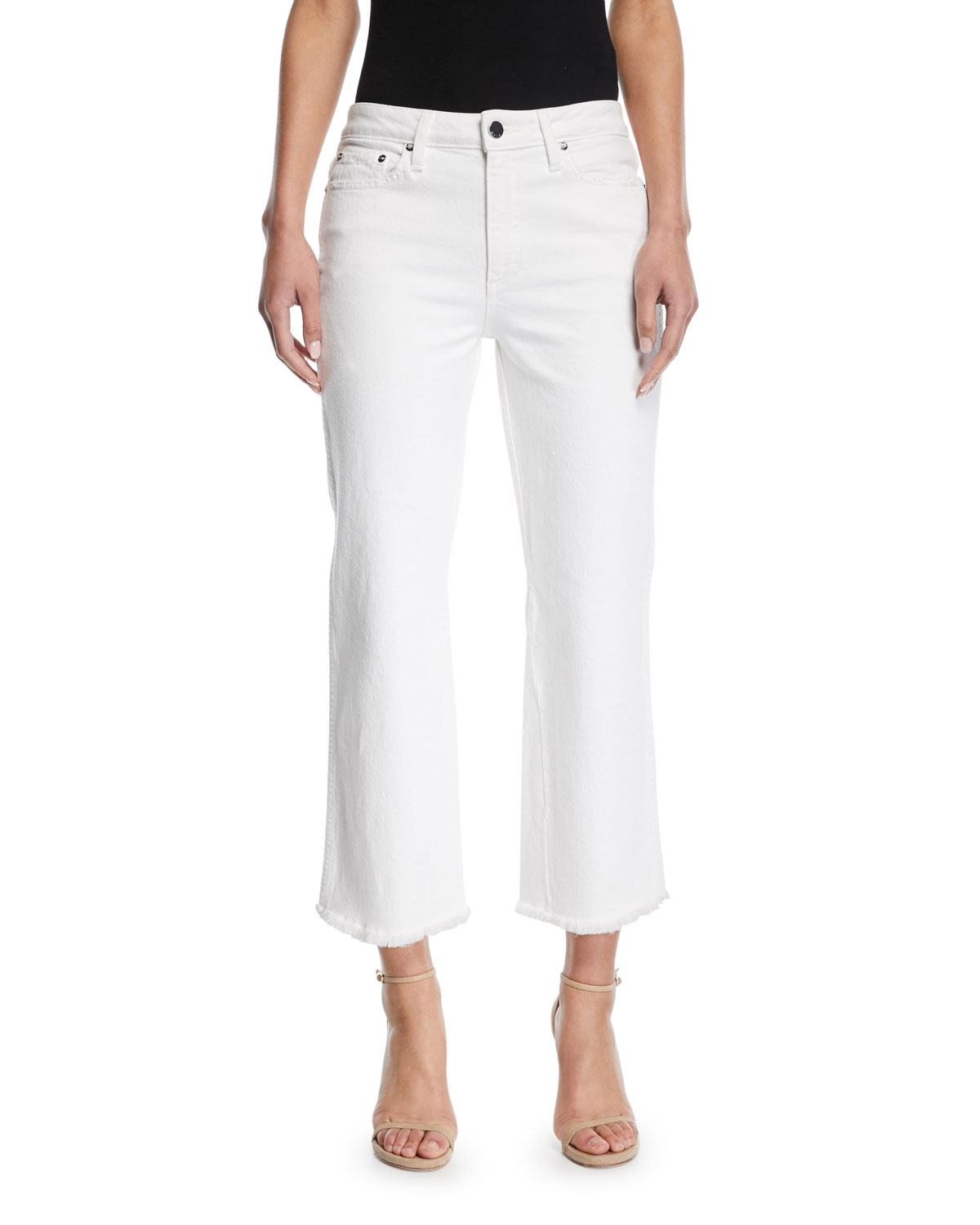 Perfect Cropped Kick Flare Jeans