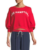 "Caleigh ""The Hamptons"" Crewneck Sweatshirt"