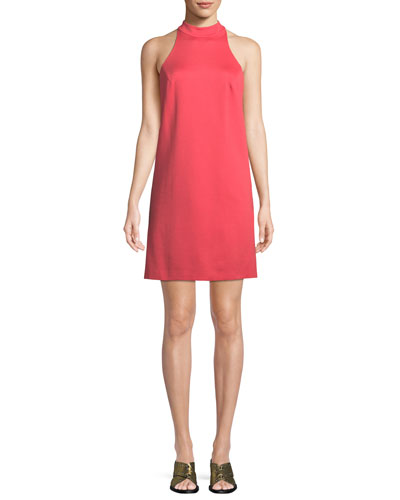 River Ponte Sleeveless Mini Dress