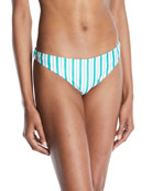Lovers And Friends Good Vibes Striped Bikini Bottoms