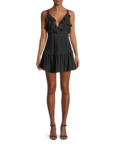 Rare Beauty Ruffle Mini Dress