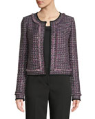 St. John Collection Milano Knit Contour Tank and