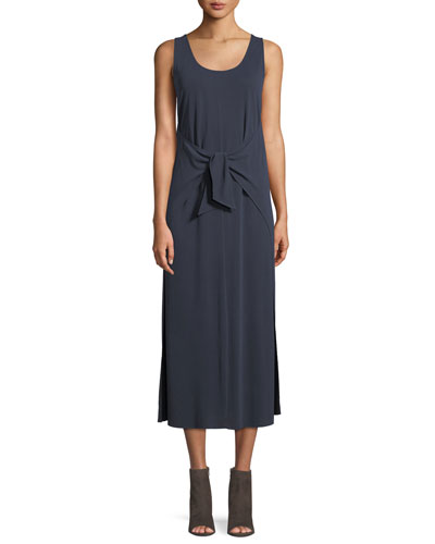 2dc80cd2688 Quick Look. Vince · Sleeveless Tie-Waist Midi Dress