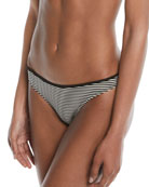 Marysia Bimini Striped Triangle Swim Top and Matching