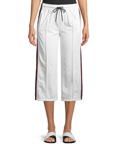 Invincible Cropped Wide-Leg Pants