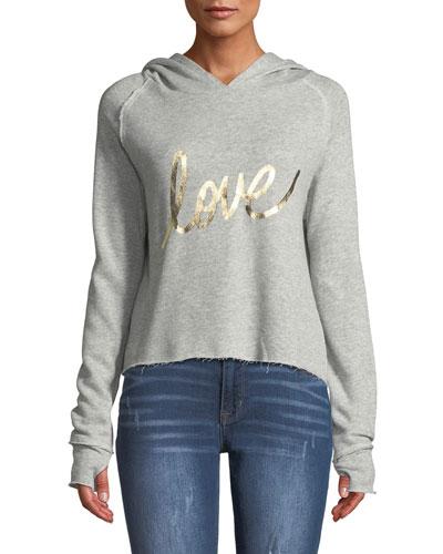 Sabrina Love Hooded Pullover Sweatshirt