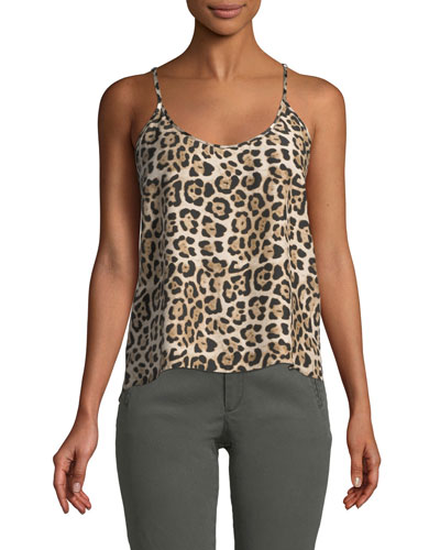 78b929eb1a43 Leopard Print Top | Neiman Marcus