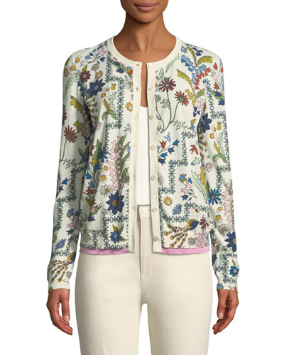 Asher Meadow Floral Cardigan