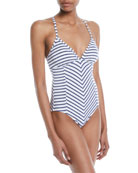 Chambray All Day One-Piece Swimsuit