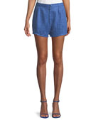 Lovers And Friends Jordy Linen Shorts