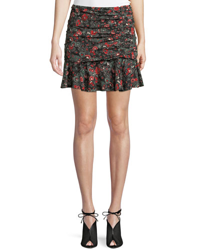 b7753e6b87 Ruched Skirt