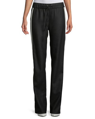 Make Your Move Sporty Wool Track Pants