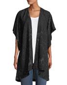 Eileen Fisher Marrakesh Printed Kimono Jacket