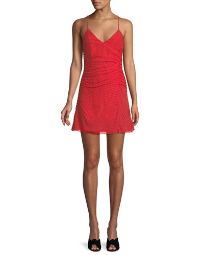 Daria Ruched Flare Dress