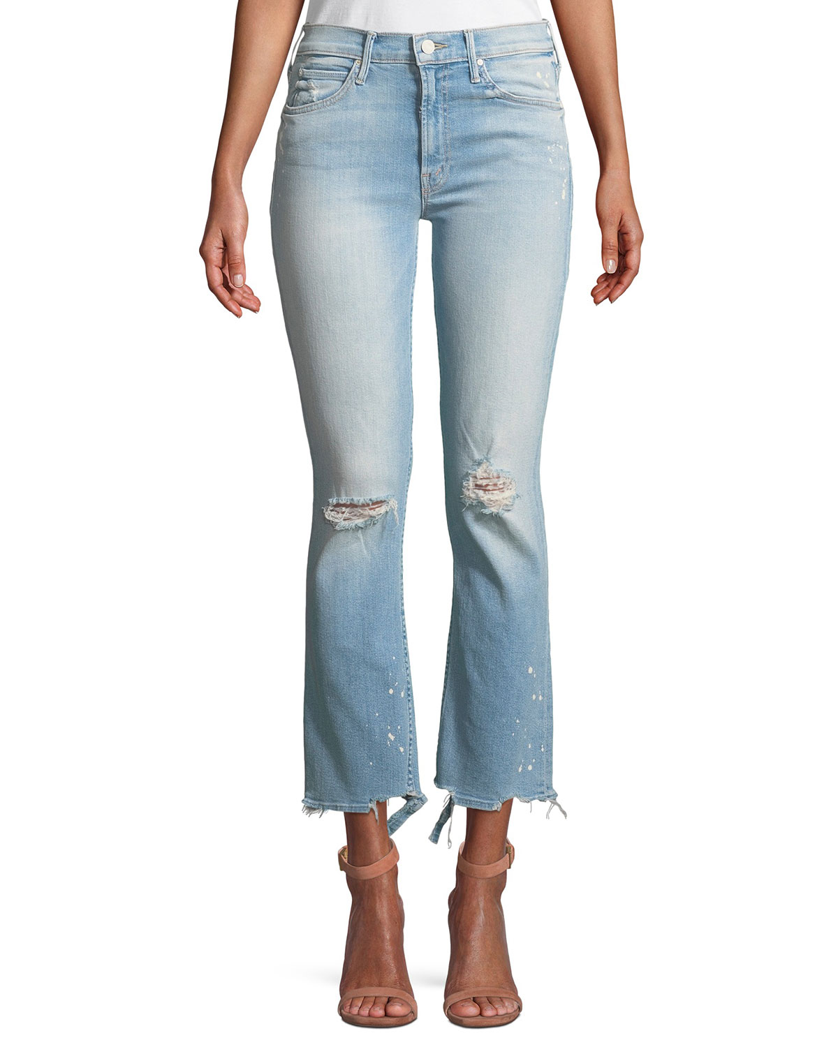 Dutchie Distressed Ankle Jeans